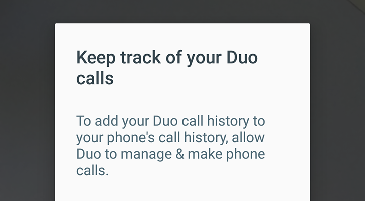 Google Duo 14 integrates with your phone's call history [APK Download]