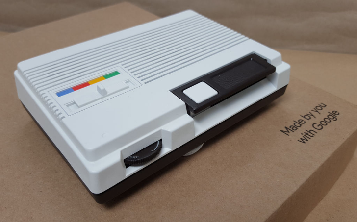 Check Out this 1986 Home Intercom Turned into a DIY Google Home