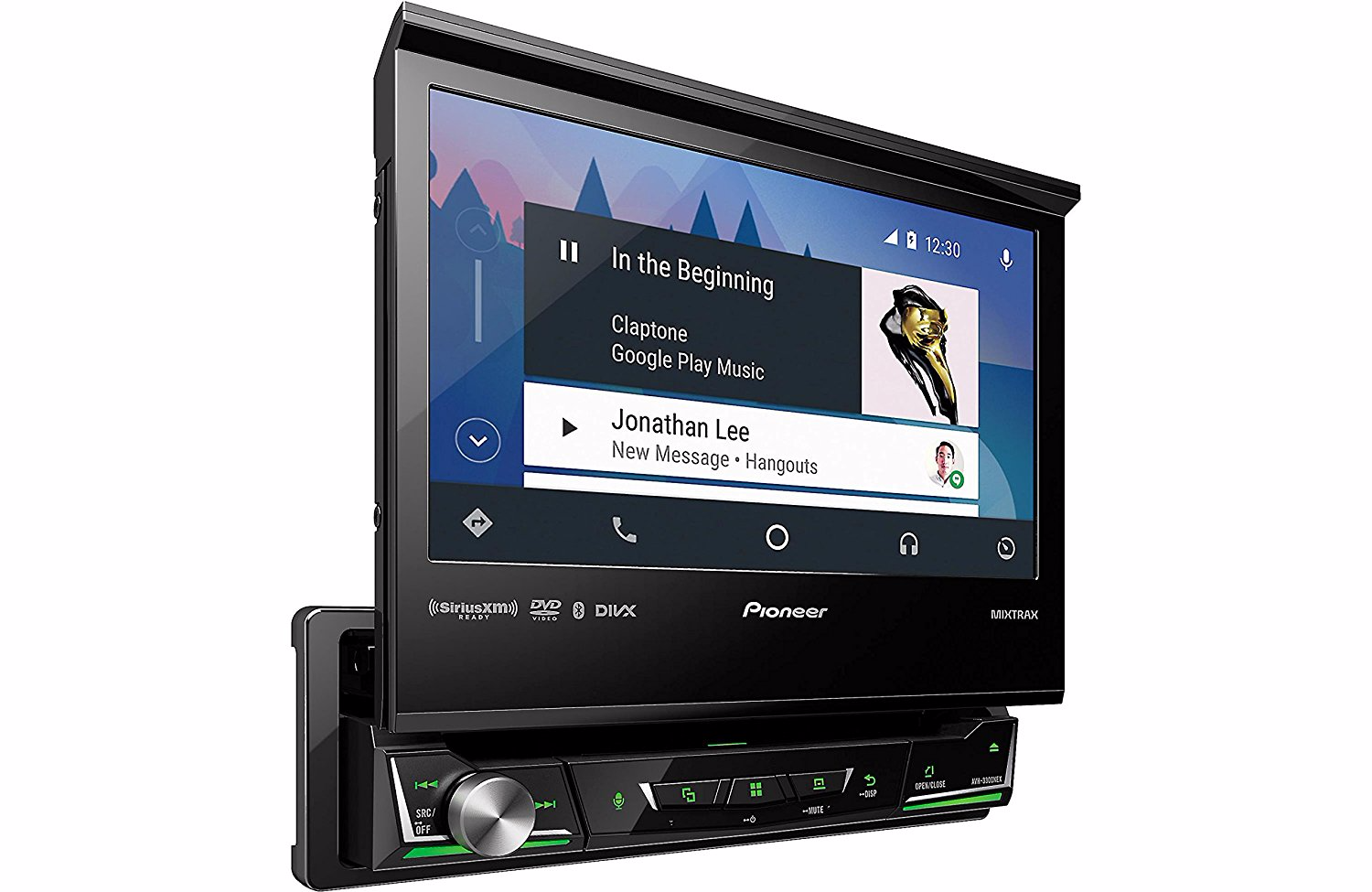 Pioneer's three 2017 Android Auto head units, including a