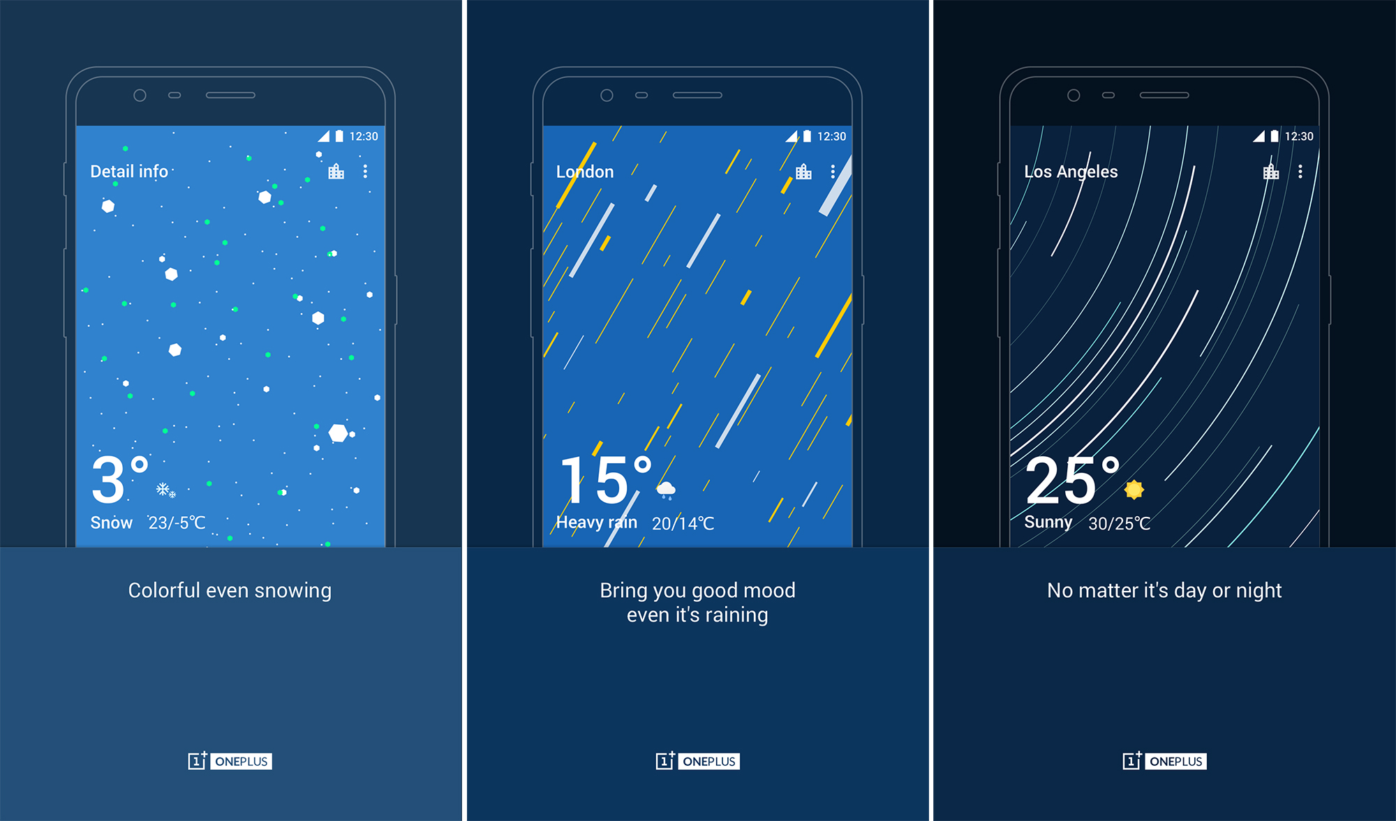 OnePlus adds its weather app to the Play Store