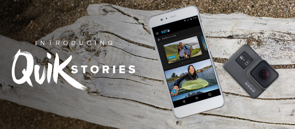 GoPro app updated to v4 0 with new 'QuikStory' video feature