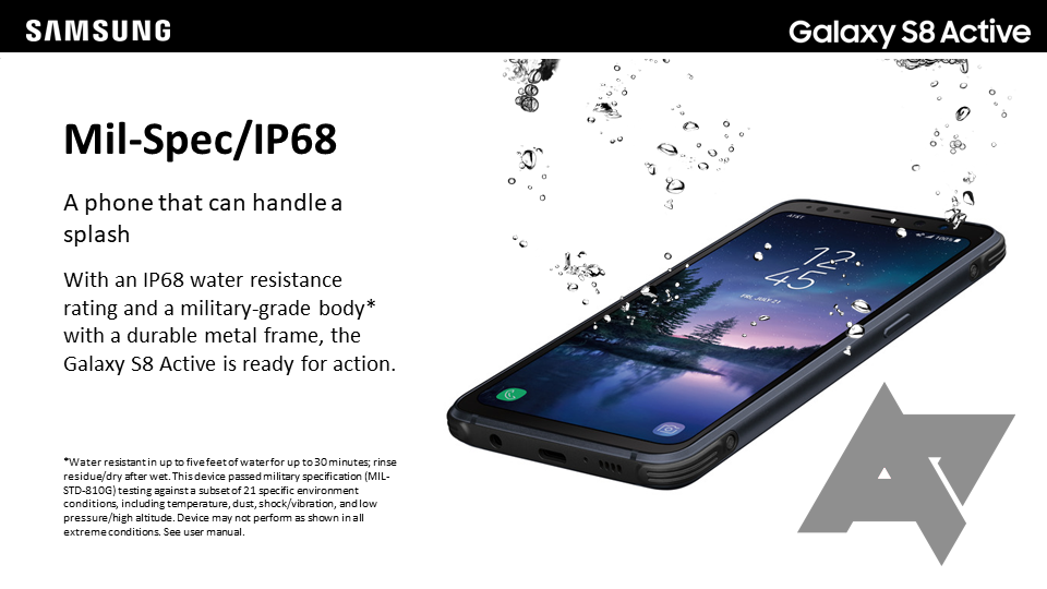 galaxy s8 active training manual leaked with more details and photos rh androidpolice com Straight Talk Samsung Phones Samsung Galaxy S3 User Guide