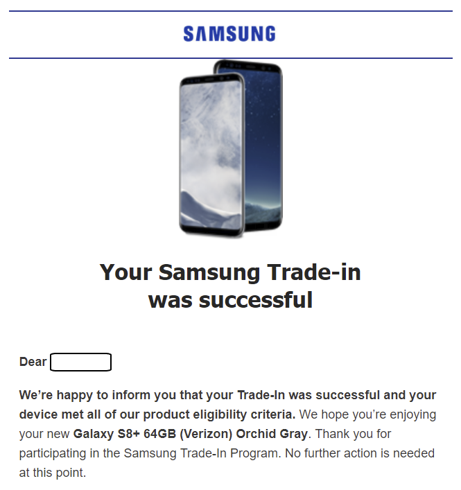 Samsung isn't honoring its Galaxy S8 $200 trade-in discount