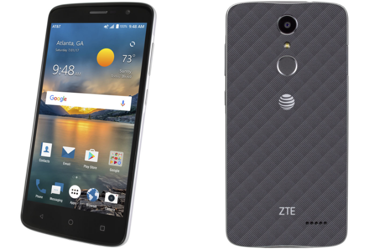 ZTE's new Blade Spark brings near-stock Nougat and a 'selfie button' to AT&T for $99