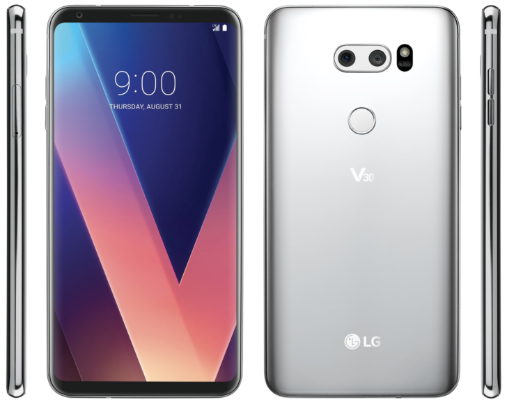 The First Official Render Of The Lg V30 Has Leaked And Its A Beauty
