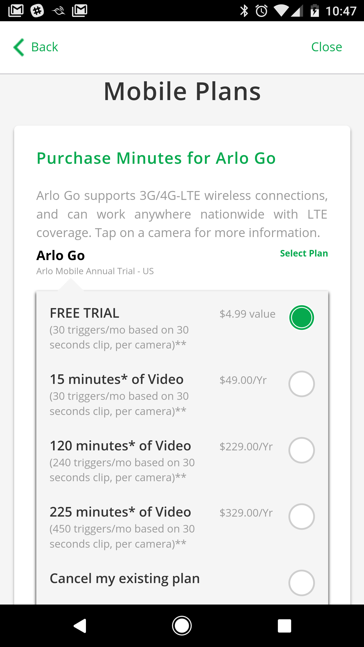 Arlo Go Review An Expensive Niche Camera Electronic