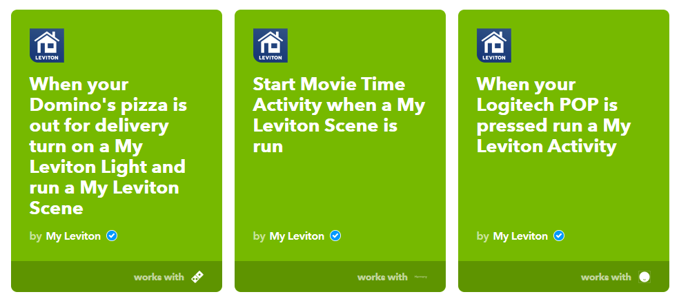 Leviton smart lighting devices now work with IFTTT