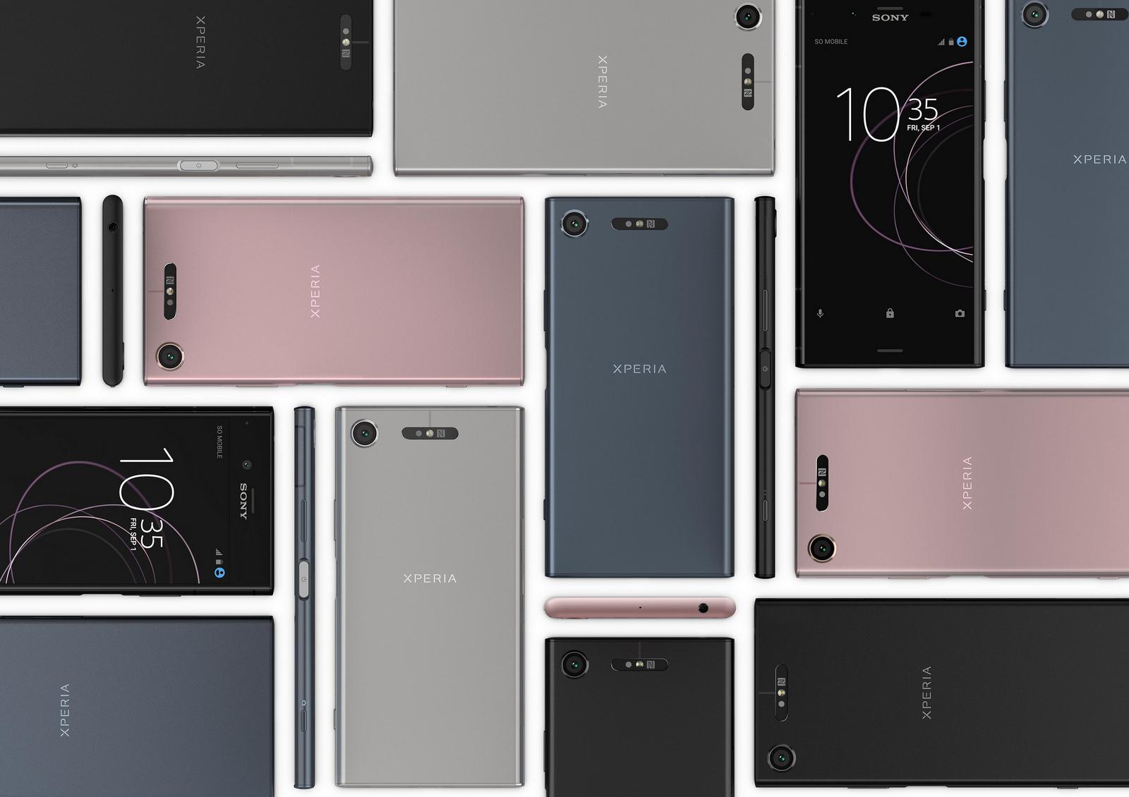 Sony announces three new Xperia phones at IFA 2017, the XZ1, XZ1