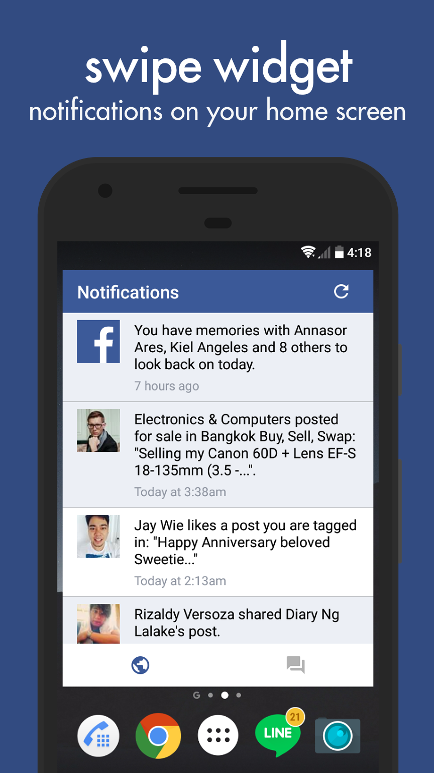 Swipe for Facebook updated to v7 0 after long hiatus