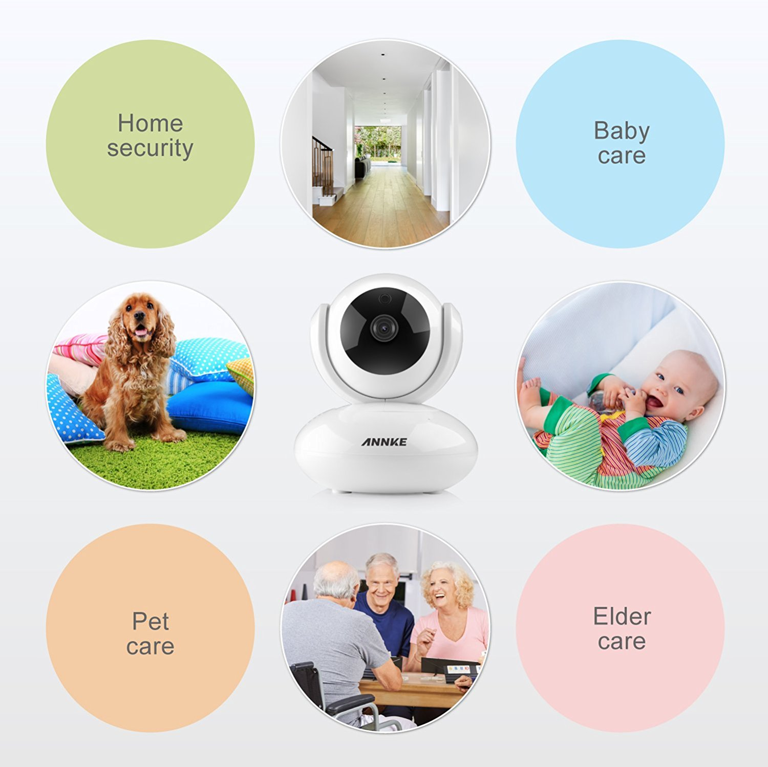 ANNKE's 1080p pan/tilt IP camera is an Amazon Deal of the