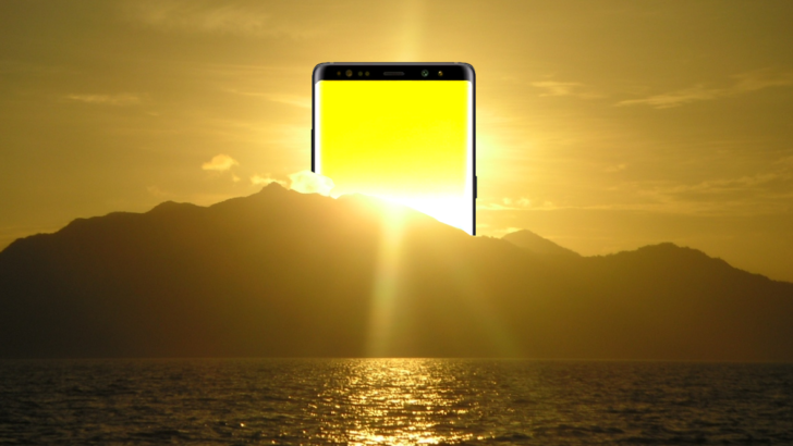 The Galaxy Note9 may get an in-display fingerprint sensor after all