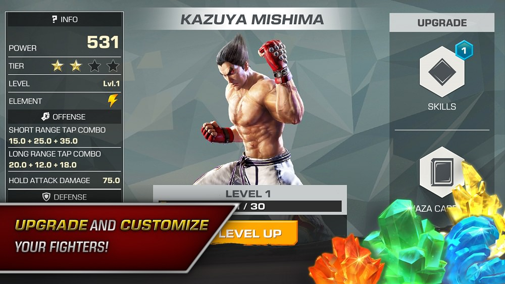 Tekken is coming to Android and you can pre-register for the release