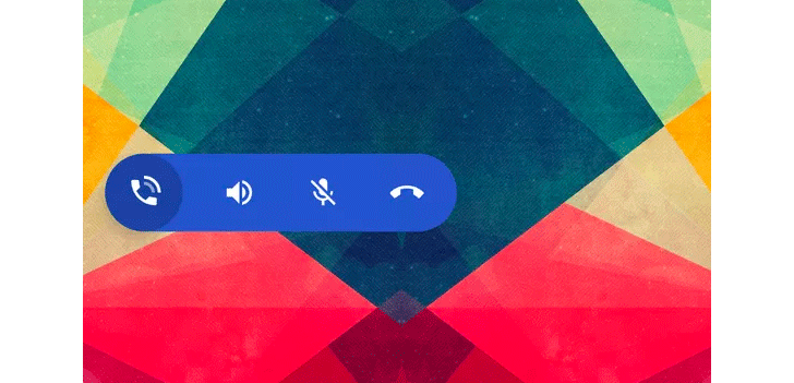 The Google Phone app could be getting an in-call floating action bar