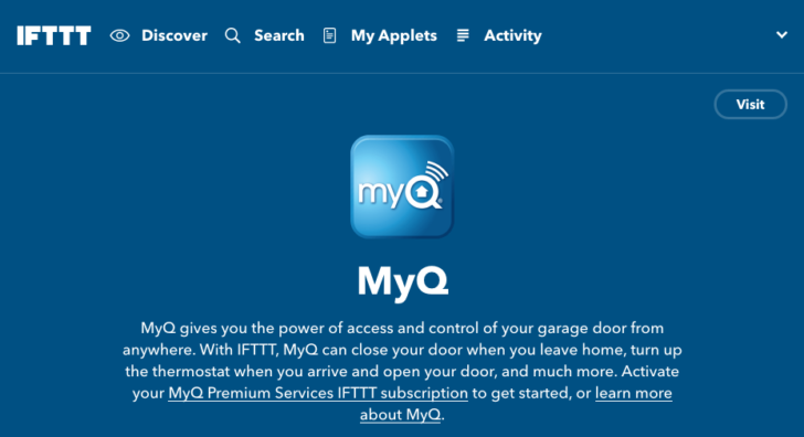 Updated] IFTTT adds channels for MyQ garage door opener