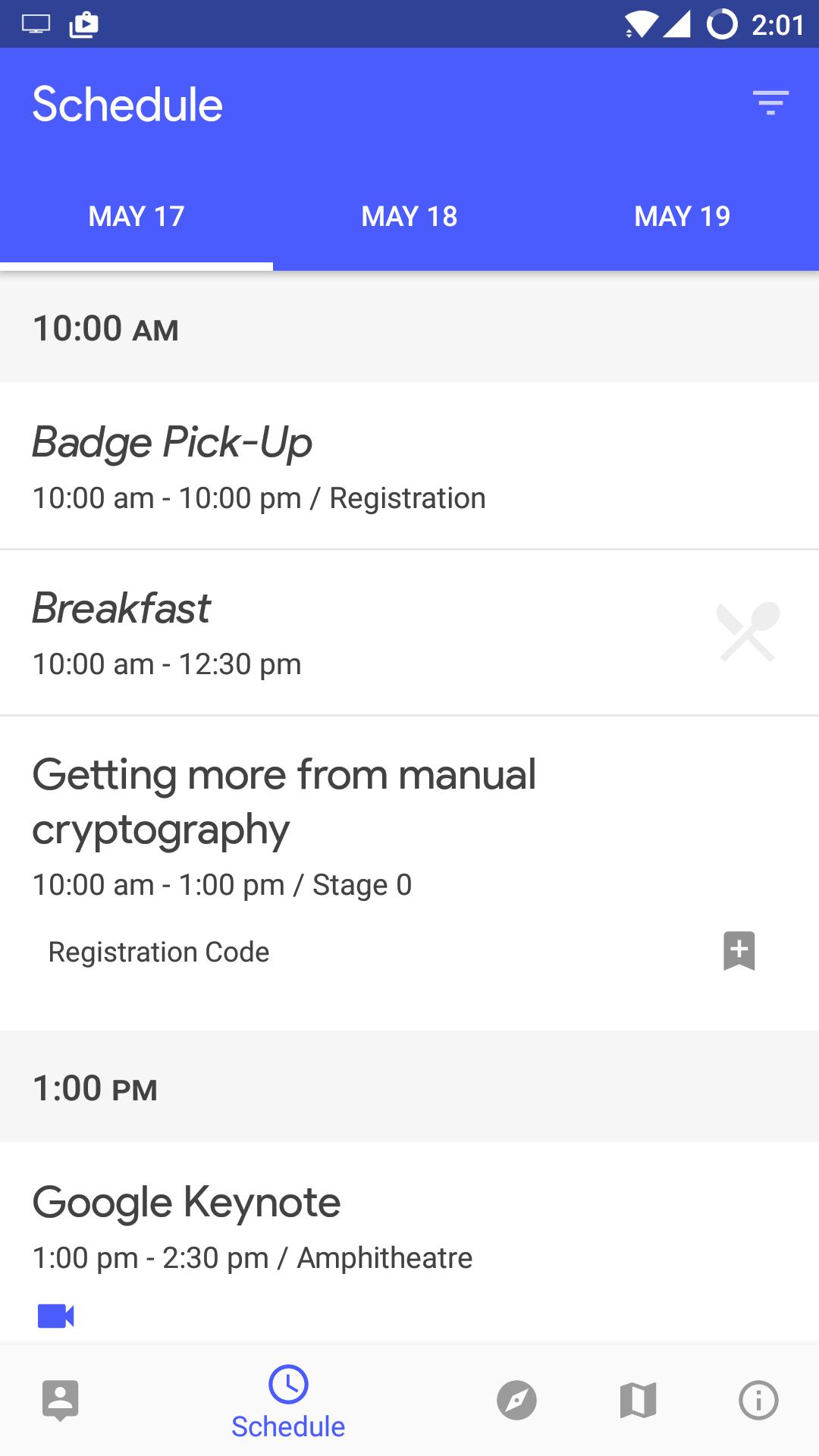 Google I/O 2017 app's source code released on GitHub to