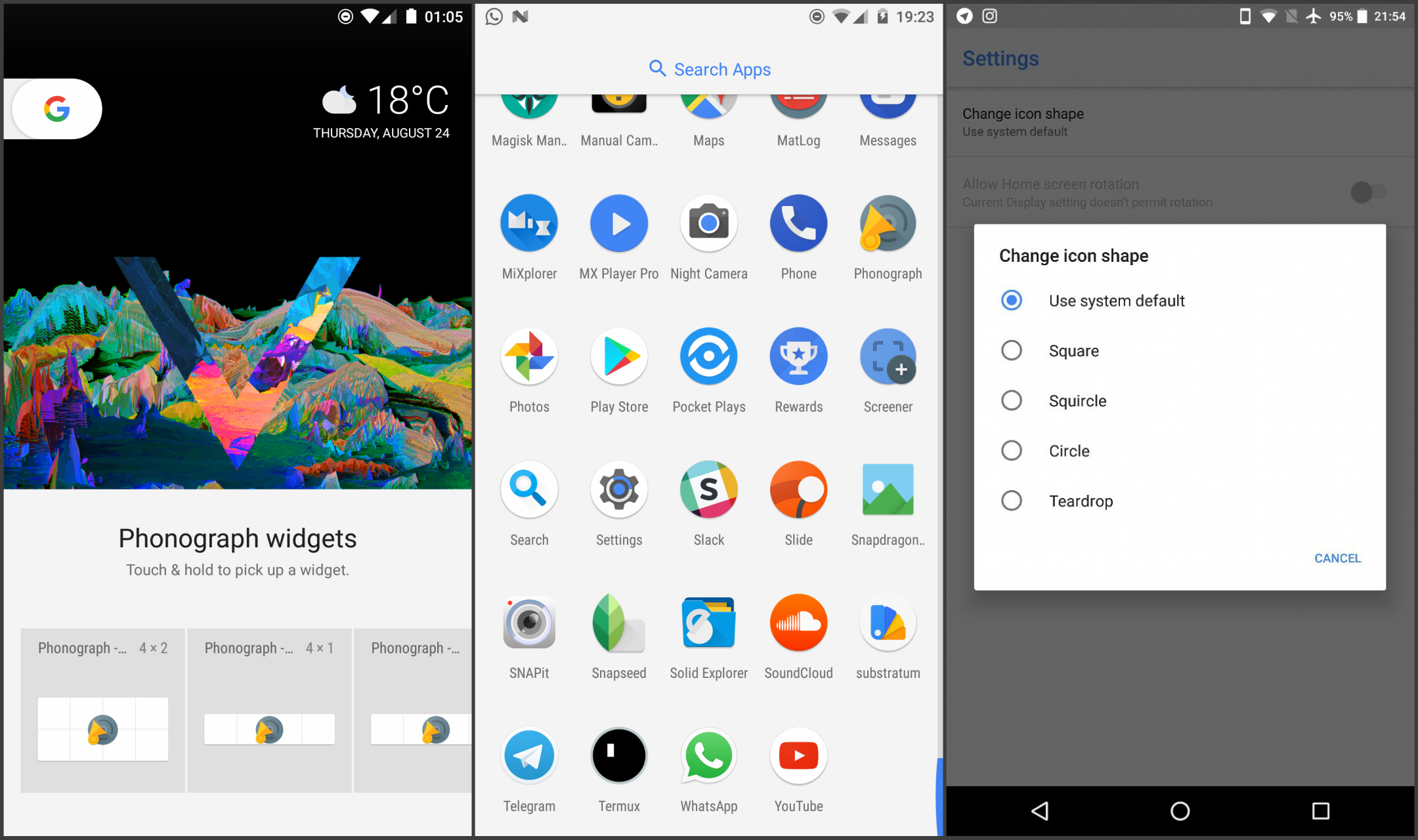Modified Pixel Launcher for all devices hits version 2 1