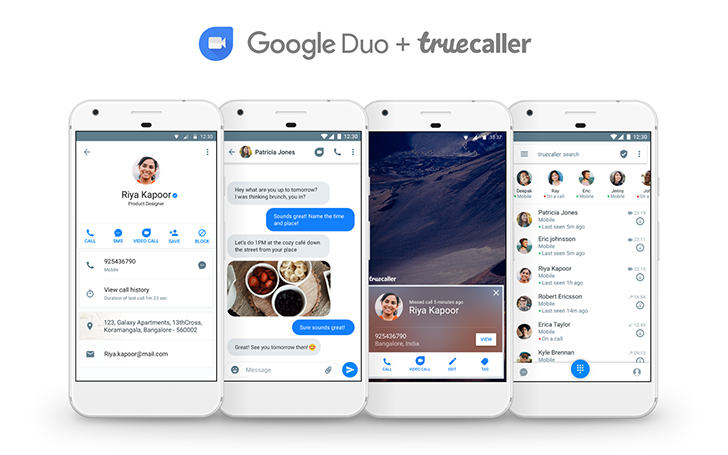 Google Duo brings video calls to Truecaller