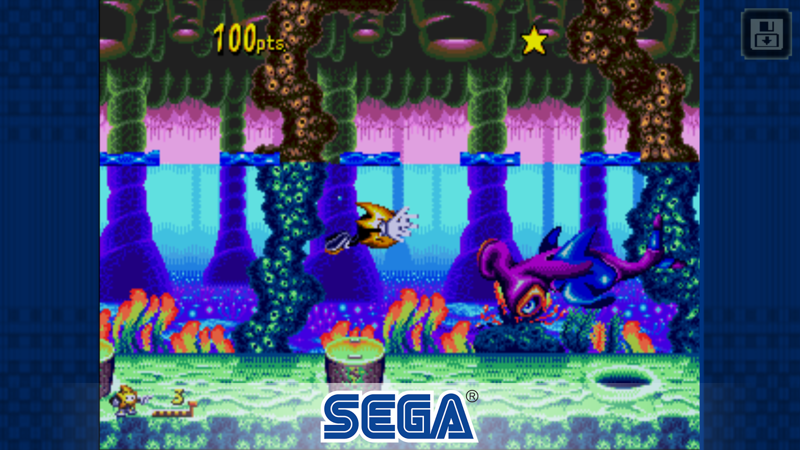 Sega's 'Ristar' is the latest title added to the SEGA