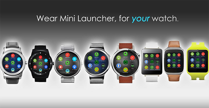 612e622533f6 One of the most popular third-party apps for Android Wear is Wear Mini  Launcher. As the name implies