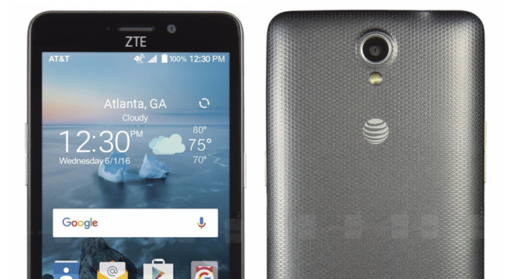 results from zte maven 2 update its the