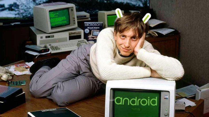 Bill Gates says letting Android win was his biggest mistake