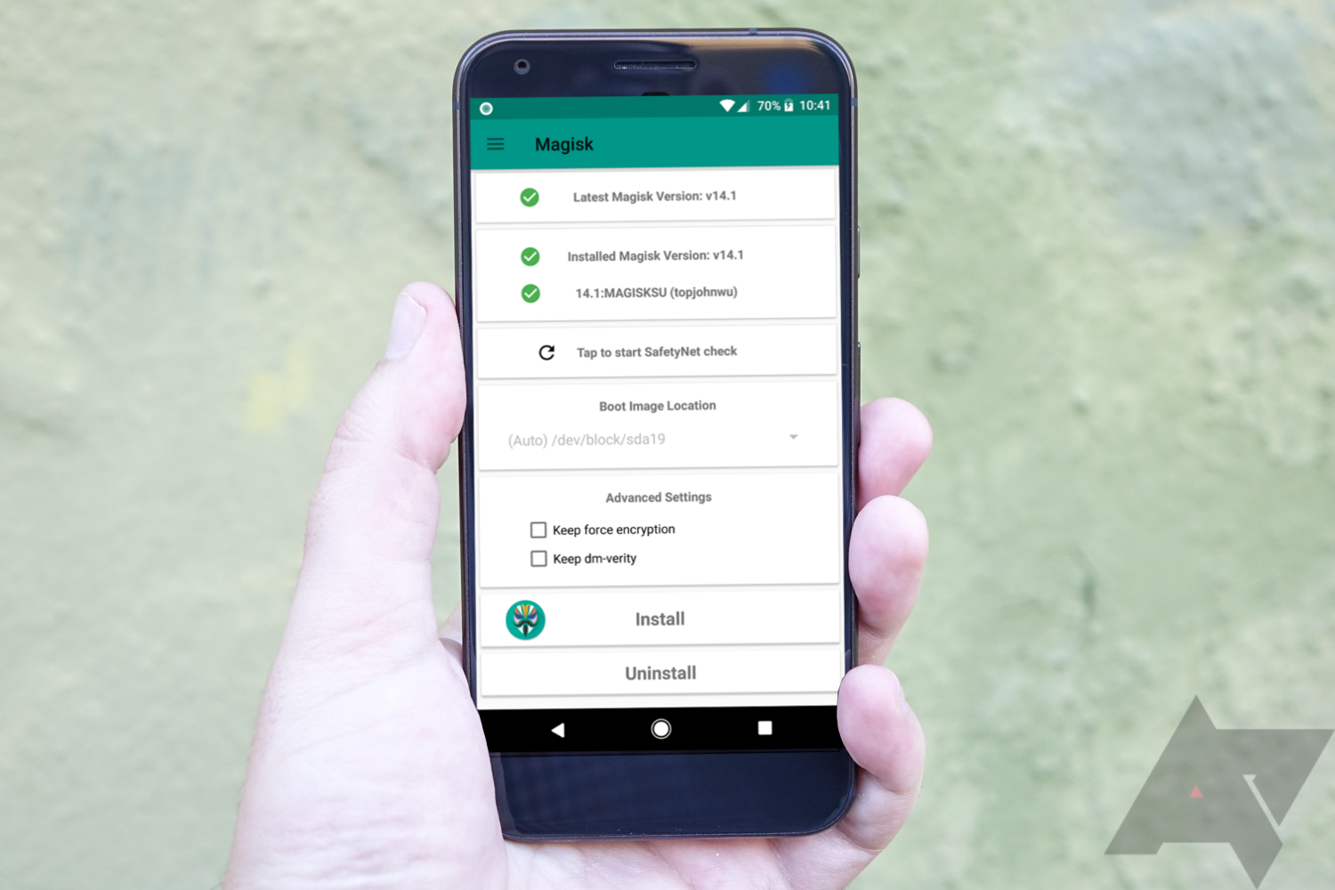 google pay on rooted device