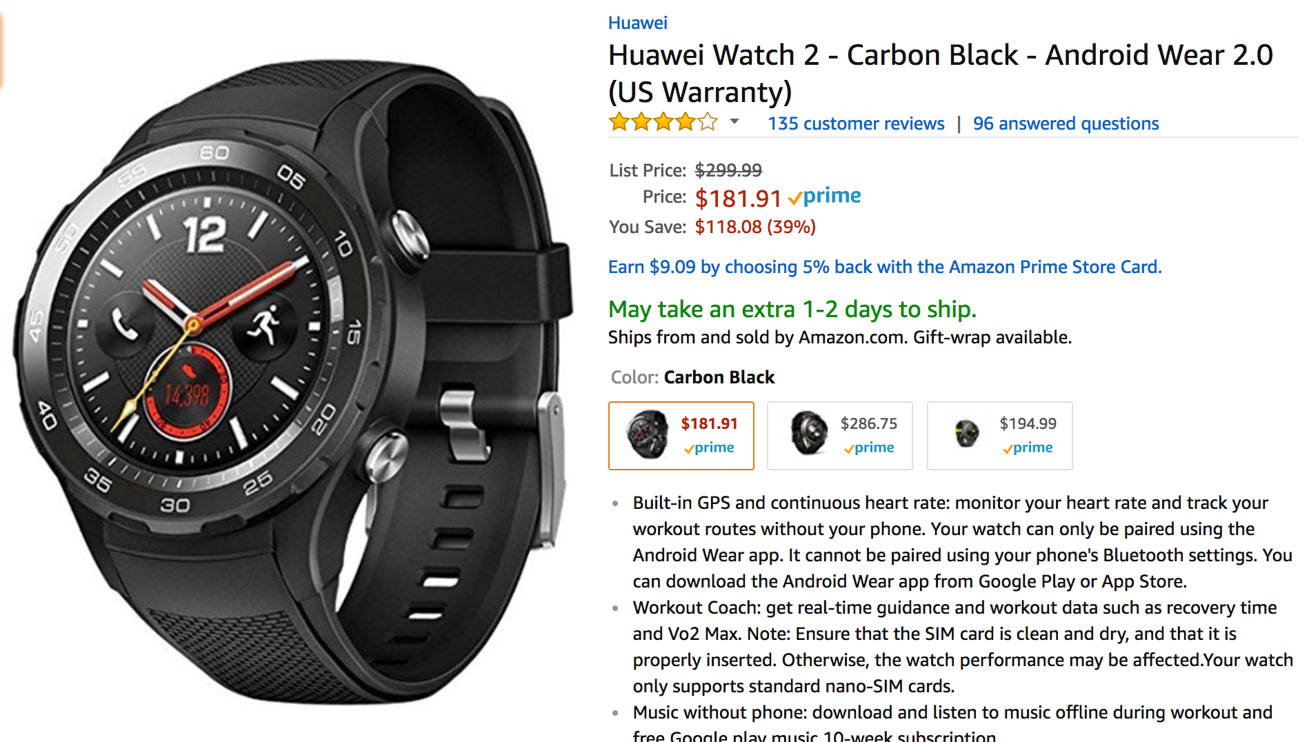 huawei watch 2 pro. we weren\u0027t big fans of the huawei watch 2, especially considering how good first-gen huatch was, and its $299.99 price tag didn\u0027t help it out. 2 pro r