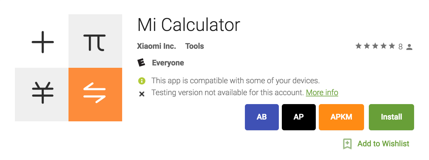 Xiaomi uploads its rather capable Mi Calculator app to the
