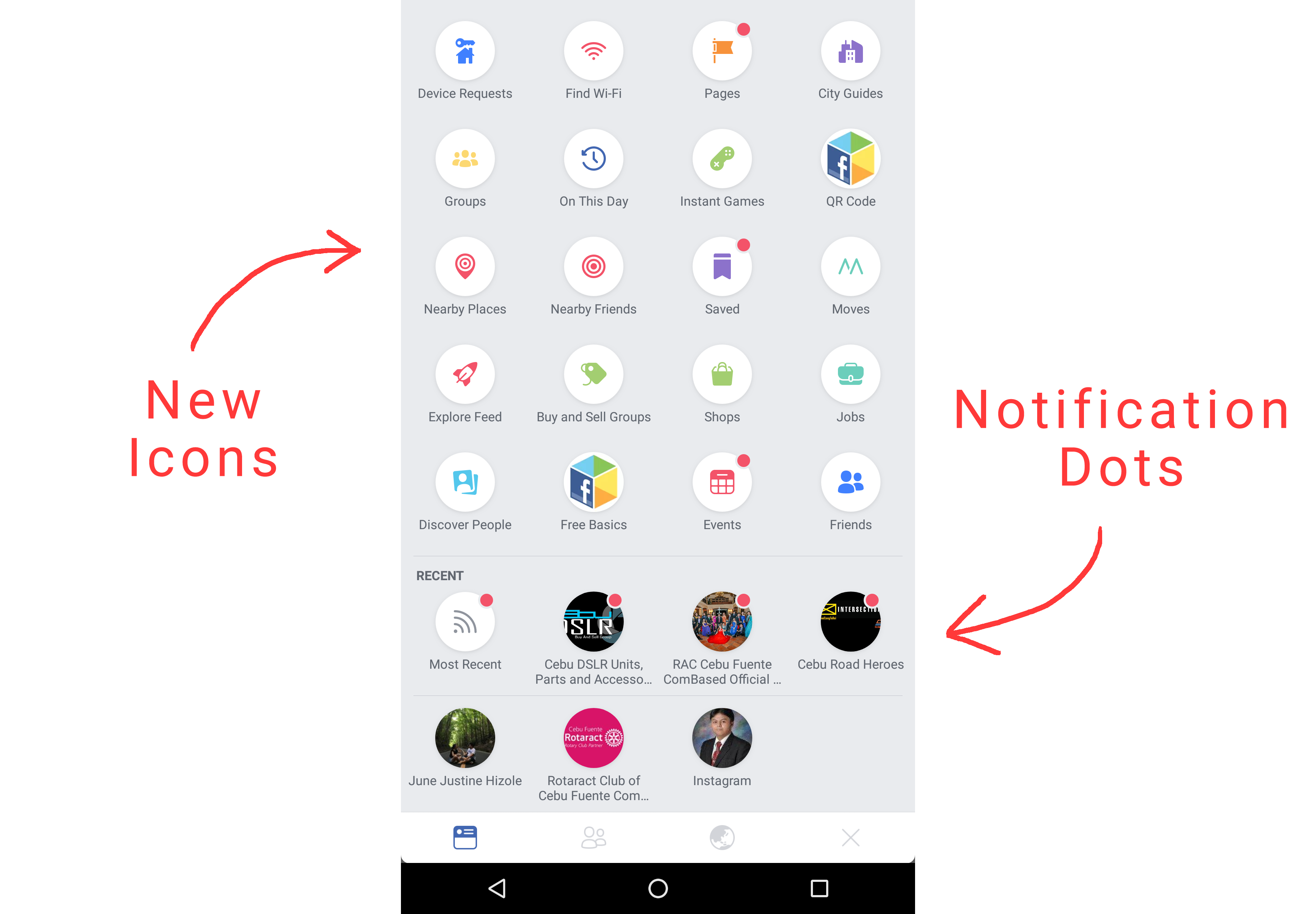 If I Tap The Hamburger Icon Drawer Expands And Hambuger Changes To A Back On Navigation Expanded