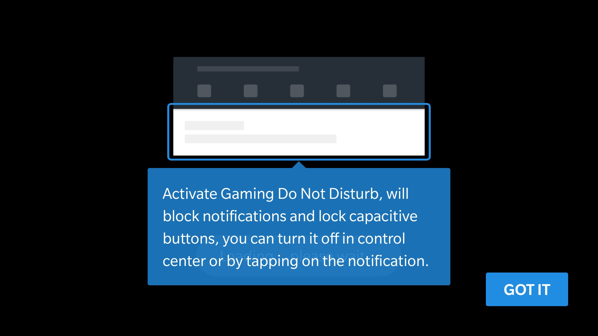 you can access gaming do not disturb in settings advanced gaming do not disturb and from there it can be enabled or disabled for individual
