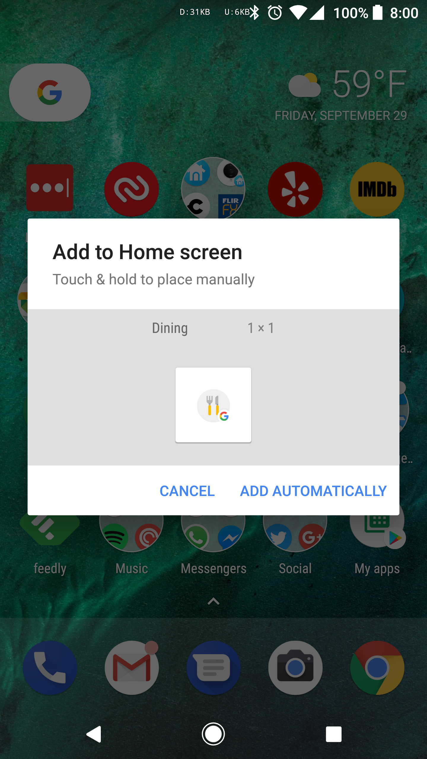 Google app now has home screen shortcuts for entertainment