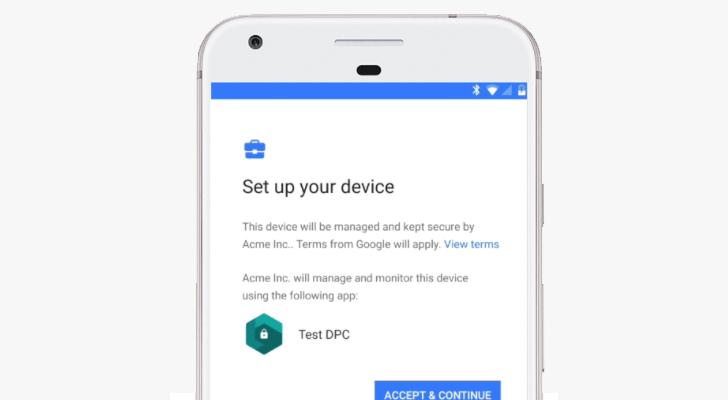 Google rolls out Android zero-touch enrollment for the enterprise""