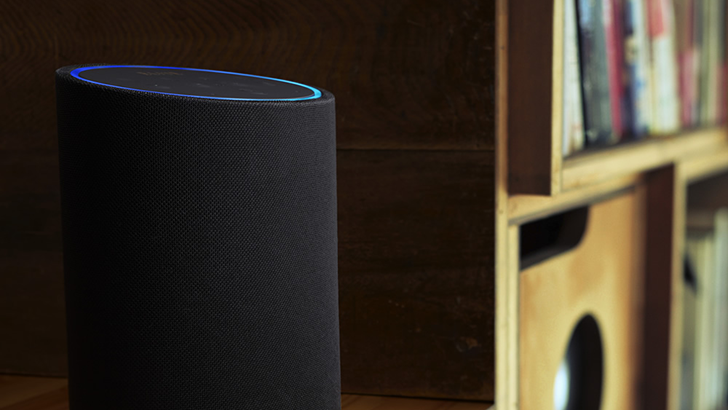 speakers like alexa. one of the new alexa speakers by dts is phorus ps10, which looks like a larger (and slanted) amazon echo. it has 30-watt class d amplifier with