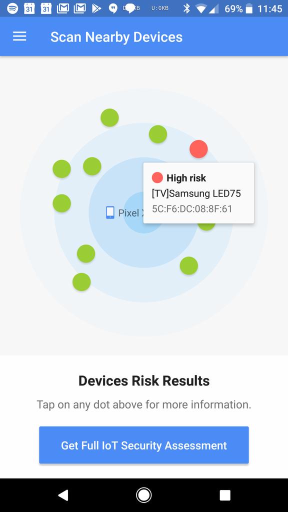 Update Official Vulnerability Tester App Google S