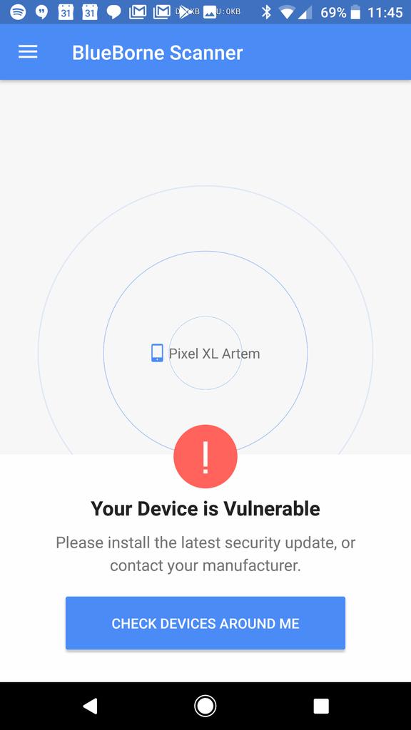 Update: Official vulnerability tester app] Google's September