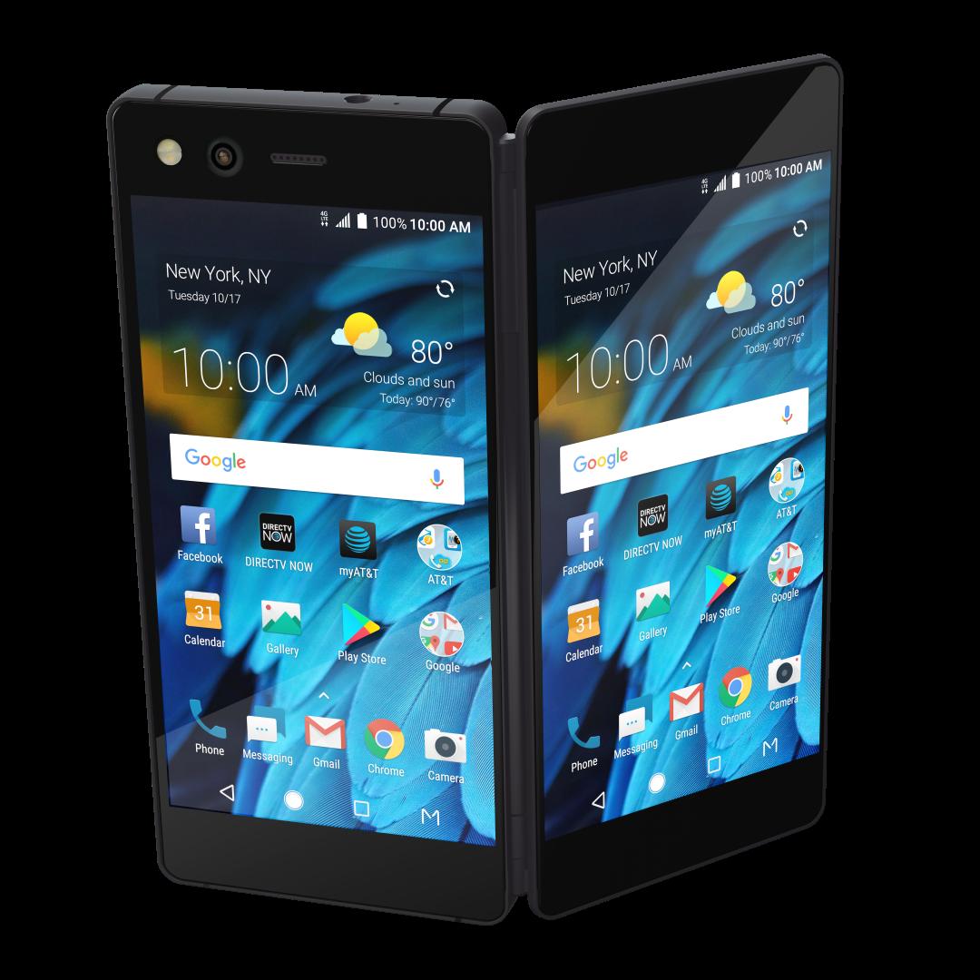 Zte Announces The Axon M An At Amp T Exclusive Folding Phone