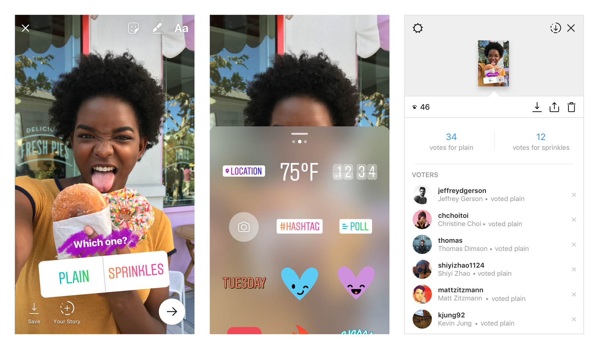 instagram adds two-option polls to stories because otherwise you'll