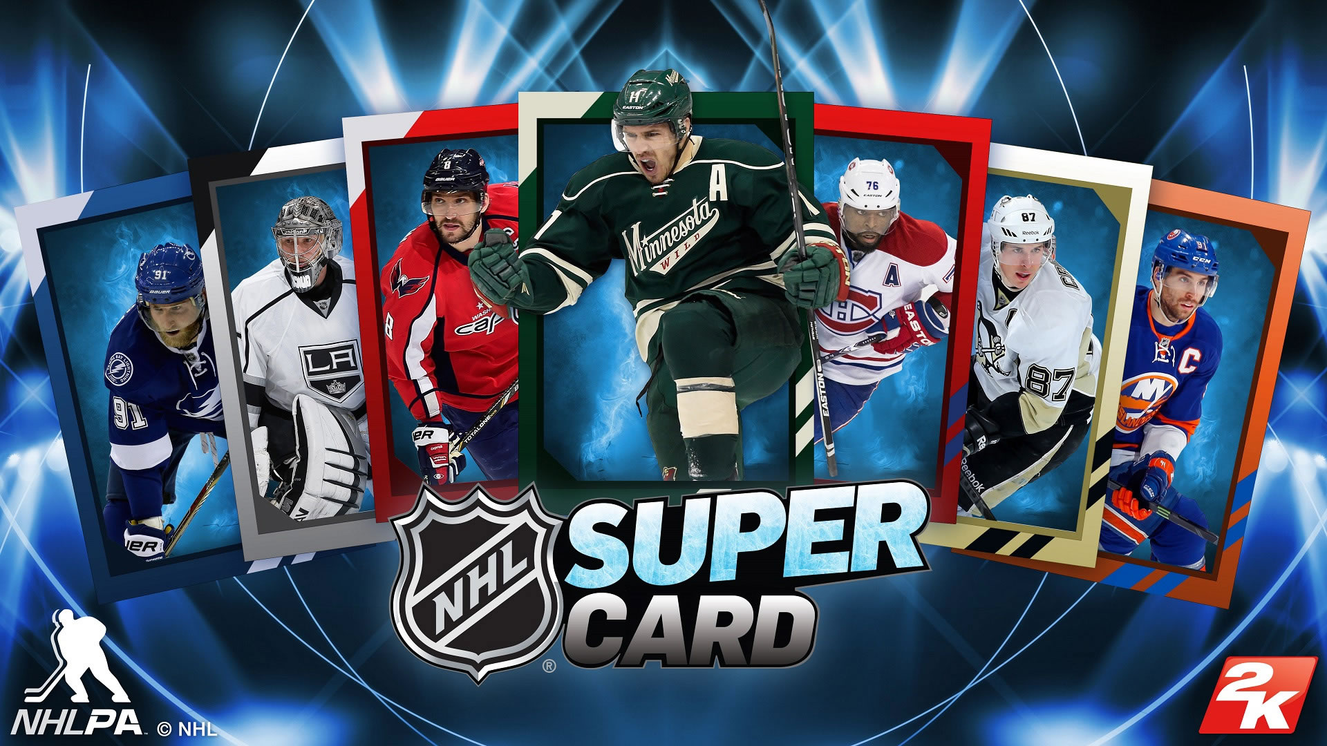 NHL SuperCard 2K18 is 2K's latest take on their SuperCard