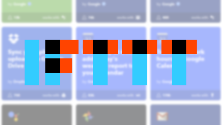 IFTTT updated with semi-adaptive icon and new sync option, plus more