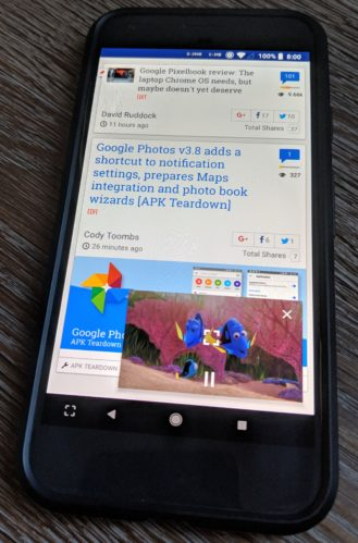 nexus2cee MVIMG 20171026 171230 e1509071924499 329x499 - Netflix makes its way to Android 8.1 Oreo [APK Download]