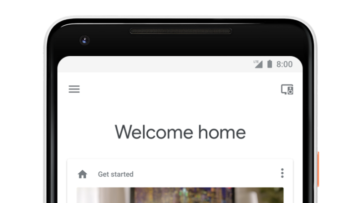 Updated Google Home