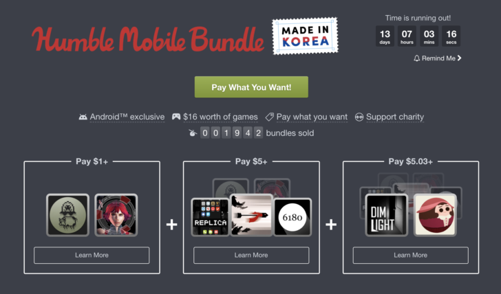 The Humble Mobile Bundle Includes Three New Games for Android