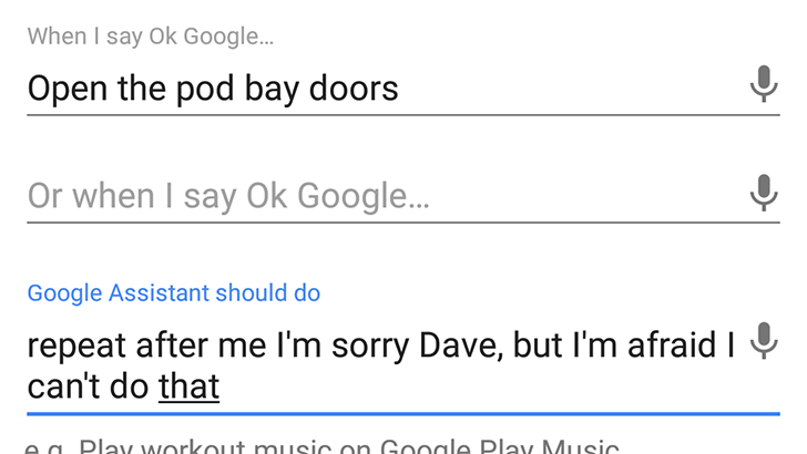 Google Assistant shortcuts can make your Home say anything