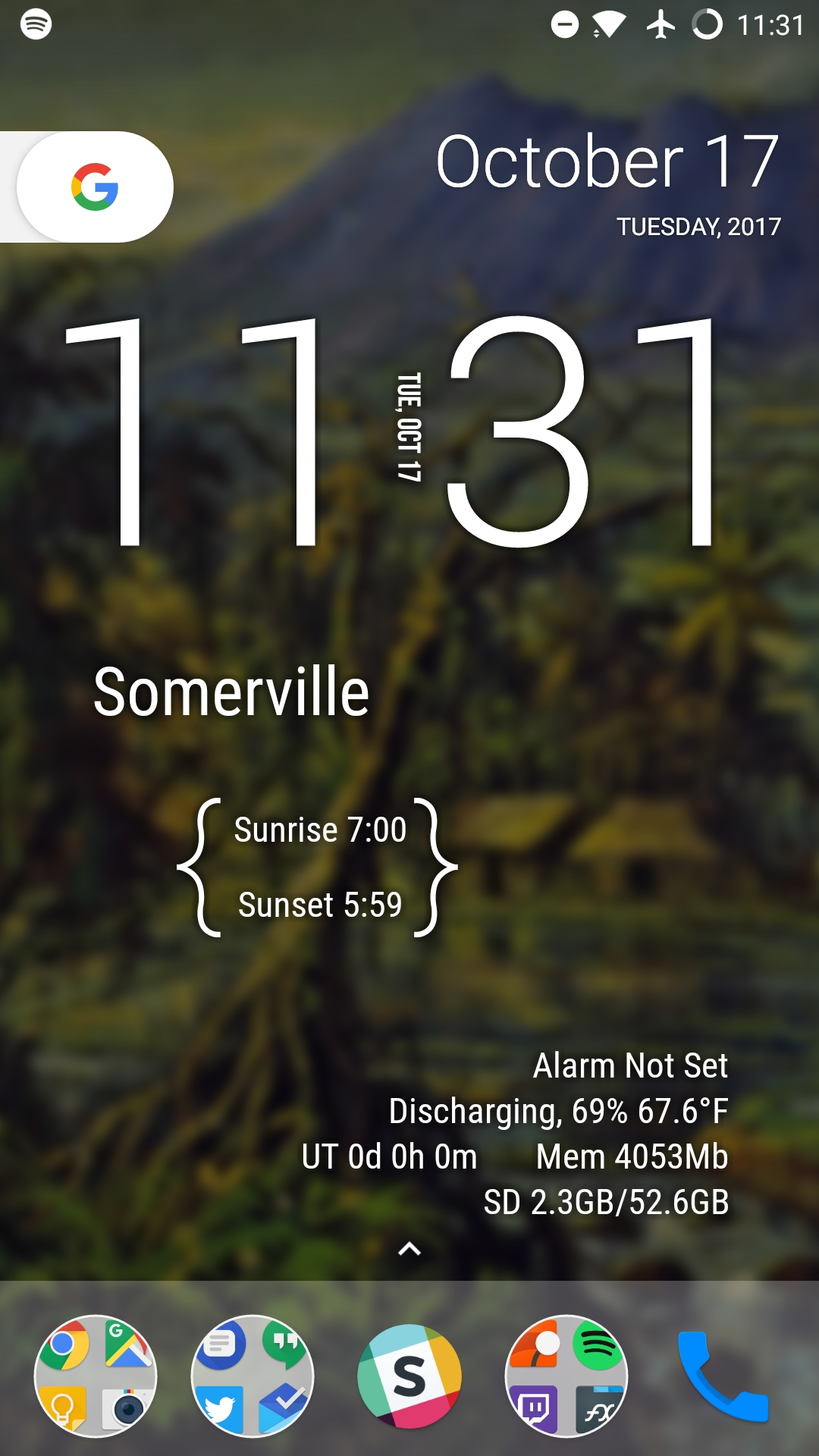 Lawnchair Launcher, the Pixel-like homescreen replacement