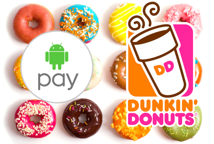 [Deal Alert] Get $5 Dunkin' Donuts gift card when you use Android Pay three times