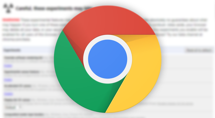 [Update x3: Now in Chrome Dev] Chrome's flags page is getting a makeover