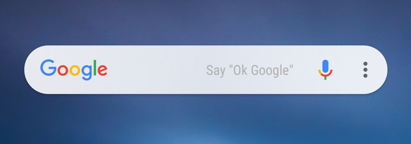 Customizable Google search bar rolls out with the latest