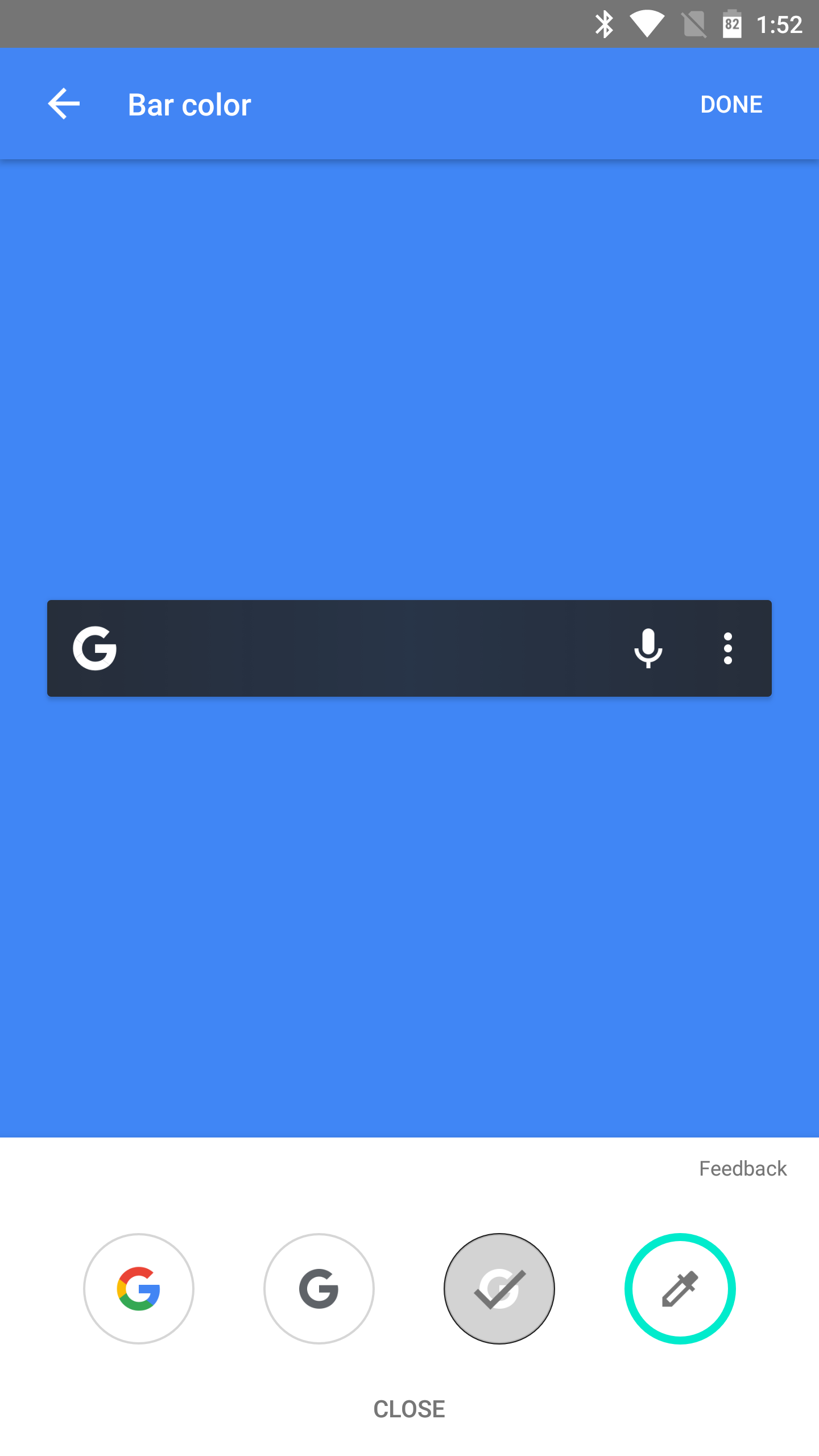 Customizable Google search bar rolls out with the latest ... - photo#49