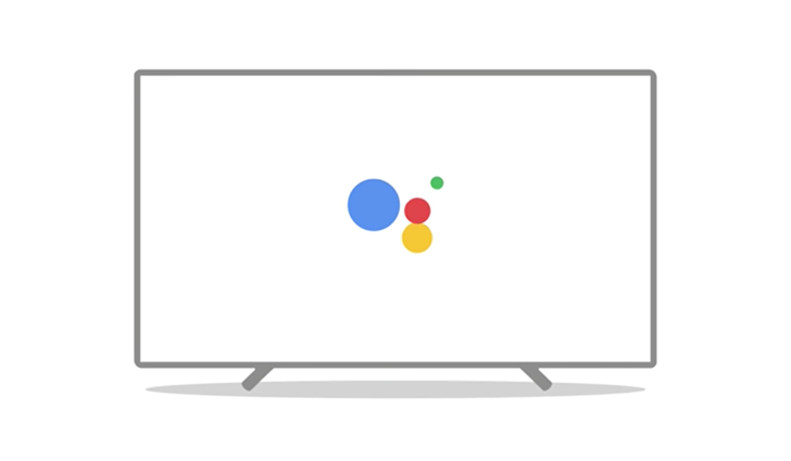 android tv logo. last week, google announced that the assistant is coming to android tv starting with nvidia shield tv. firmware update started rolling shortly tv logo