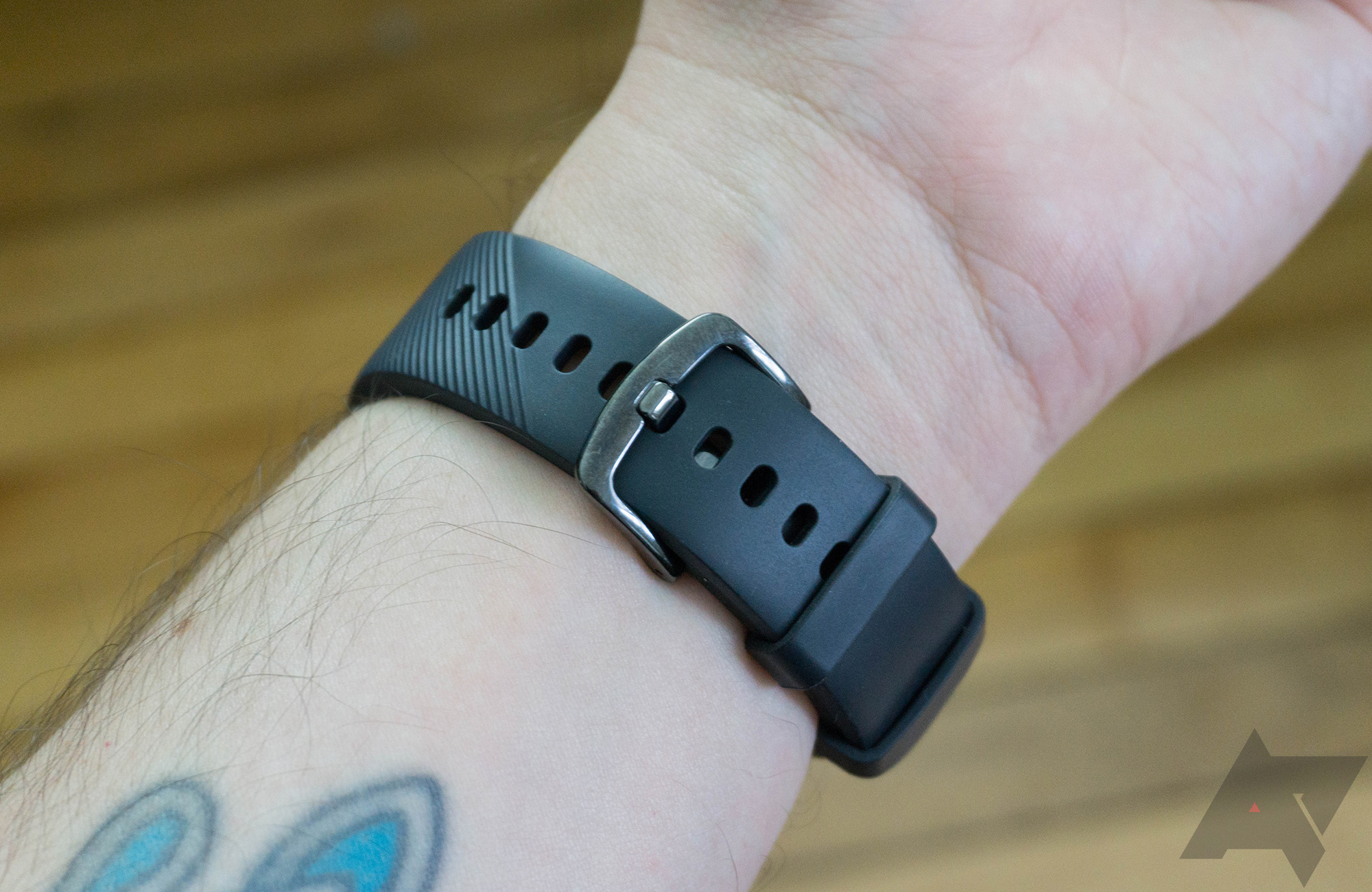 Samsung Gear Sport Review A Smartwatch Regular People Might The Pebble Smart Watch Will Include Flexible Circuit Board Case Is Only 429mm Across Which Makes It Comfortable To Wear For Most I Usually Find That Smartwatches Have Little More Bulk Than
